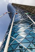 Capital Gate Tower in Abu Dhabi UAE Stock Photos