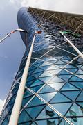 Stock Photo of Capital Gate Tower in Abu Dhabi UAE
