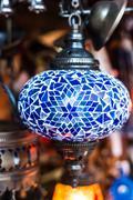 arabic lantern lamp - stock photo