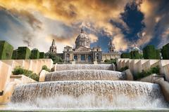 The Palau Nacional - stock photo