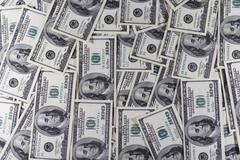 Heap of dollars Stock Photos