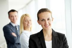 Female chief - stock photo