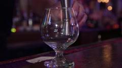 Bourbon Pour Stock Footage