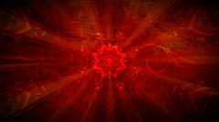 Red Star Flourish 1080  background - stock footage