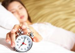 Time to wake up Stock Photos