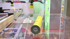 Golf Ball Technology Factory Stock Footage