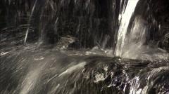 American Indian Museum - Smithsonian-waterfall cu Stock Footage