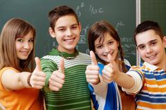 Classmates - stock photo
