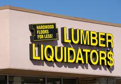 Stock Photo of Lumber Liquidators Store Exterior