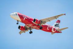 Stock Photo of BANGKOK, THAILAND - JUNE 1, 2015: HS-ABJ Airbus A320-216 of Thai Air Asia lan
