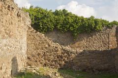 Ancient Ruins Italy Stock Photos