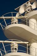 Ea. Cruise ship radar and signaling equipment. Kuvituskuvat