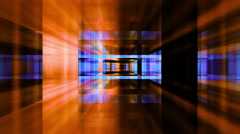 Traveling through a maze of refracted light - Video Background 2106 HD, 4K Stock Footage
