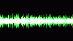 4k Abstract Sound wave rhythm energy recording background,science fiction light Stock Footage