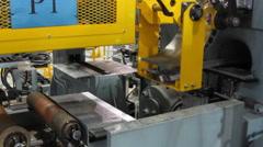 Aluminum anchor windlass.(Puller machine) Stock Footage