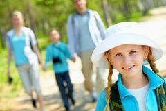 Young traveler - stock photo