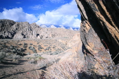 Stock Video Footage of 5K 3Axis Motion Control Time Lapse of Rocky Desert Terrain & Alpine Mountains