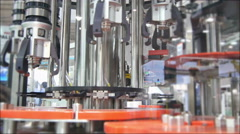 Factory Claw Robot 4K UHD Stock Footage