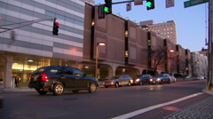 Exterior of Brigham and Women's Hospital Stock Footage