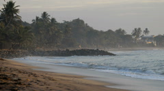 Tangalle Beach, Sri Lanka, Asia Stock Footage