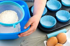 Child Cooking - stock photo