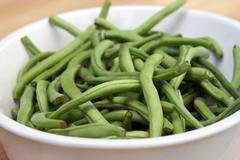 Fresh Green Beans - stock photo