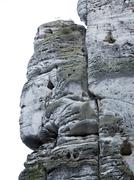 Bizarre Rocks In The Bohemian Paradise Stock Photos