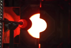 Glass blow 02 Stock Footage