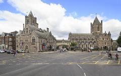 Stock Photo of Christ Church Cathedral in Dublin