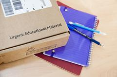 Stock Photo of Distance learning delivery