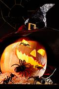 Halloween sorcery - stock photo