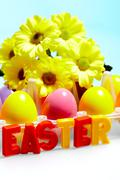 Happy Easter! - stock photo