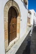 Lindos, Rhodes, Dodecanese Islands, Greek Islands, Greece, Europe - stock photo