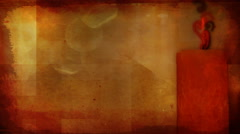 Whispy Candle 1080  background - stock footage