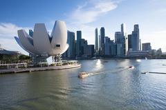 Stock Photo of Singapore skyline in the daylight