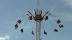 Fairground Ride Stock Footage
