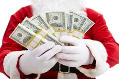 Christmas wealth - stock photo