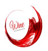 Abstract red wine background - stock illustration