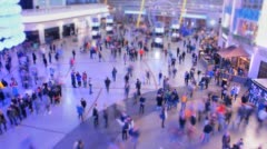 Crowd Time Lapse Stock Footage