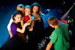 Party mood Stock Photos