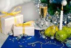 Holiday composition Stock Photos