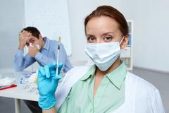 Measure against flu Kuvituskuvat