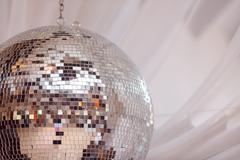 Party lights disco ball Stock Photos