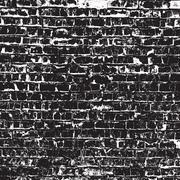 Old Black Bricks Stock Illustration