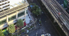 Bangkok Crossing in City $K Stock Footage