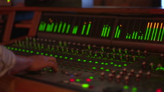 Mixing Console Stock Footage