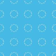 European union straight pattern Stock Illustration