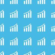 Financial graphic straight pattern Stock Illustration