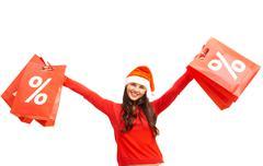 Christmas offer - stock photo