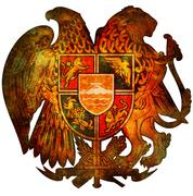 National emblem of armenia Stock Illustration